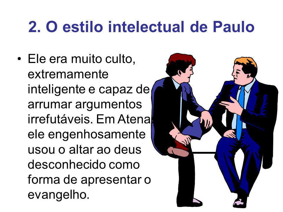 3.O estilo do testemunho do cego Este tipo de evangelista não confronta e nem intelectualiza.