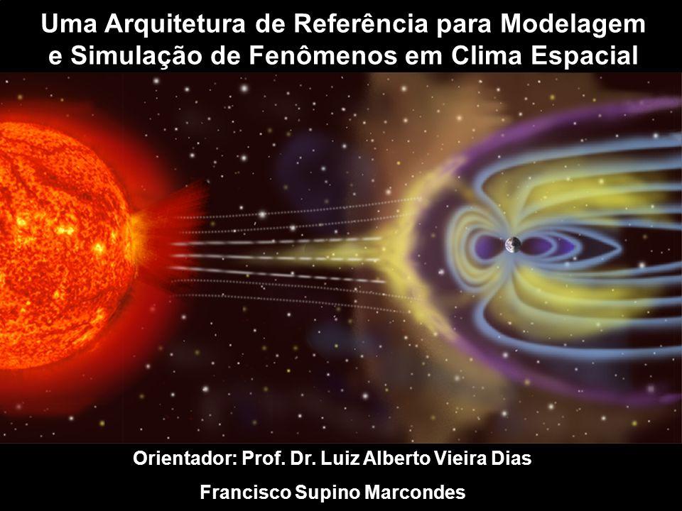 Uma Arquitetura de Referência para Modelagem e Simulação de Fenômenos em Clima Espacial Orientador: Prof.