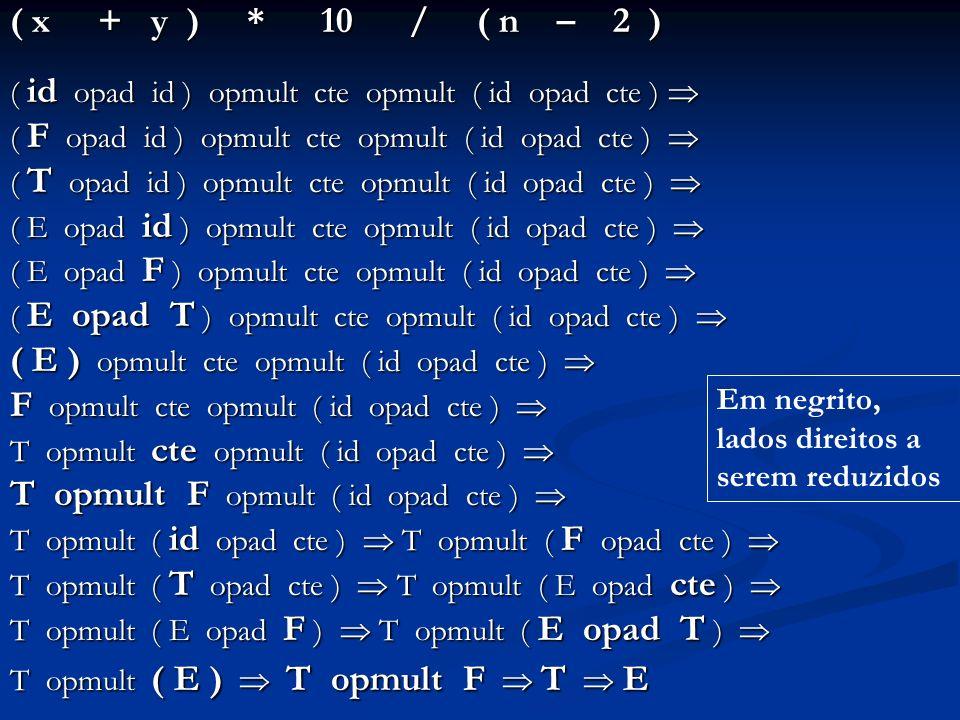 ( x + y ) * 10 / ( n – 2 ) ( id opad id ) opmult cte opmult ( id opad cte ) ( id opad id ) opmult cte opmult ( id opad cte ) ( F opad id ) opmult cte