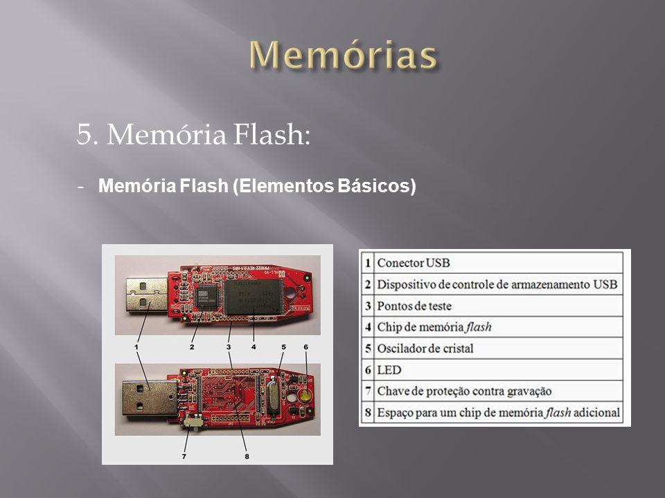 5. Memória Flash: -Memória Flash (Elementos Básicos)