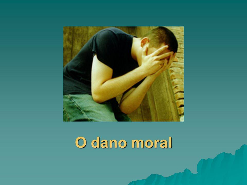 O dano moral
