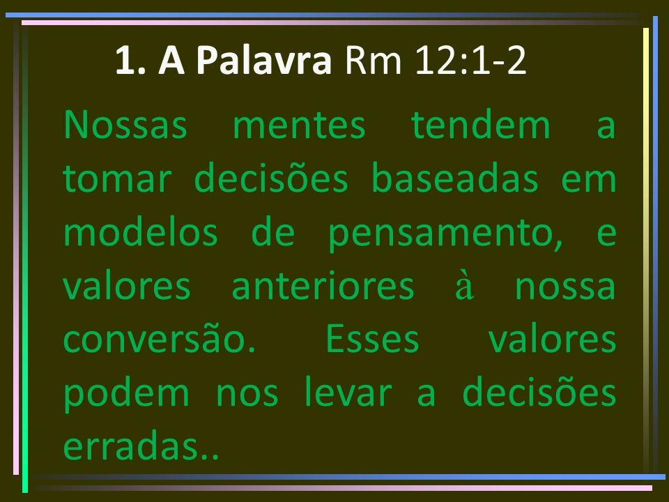 4.Busque Conselhos de Cristãos maduros Prov.