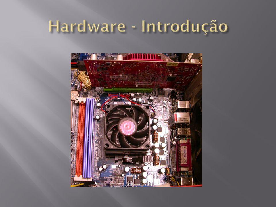 Hard – Duro Ware – Produto Manufaturado - Origem da palavra (Inglesa) - Definição de Computador: Computador é uma máquina eletrônica, ou seja, um conjunto de hardwares, capaz de receber dados e tratá-los de forma aritmética resultando em outros dados os quais chamamos de informação.