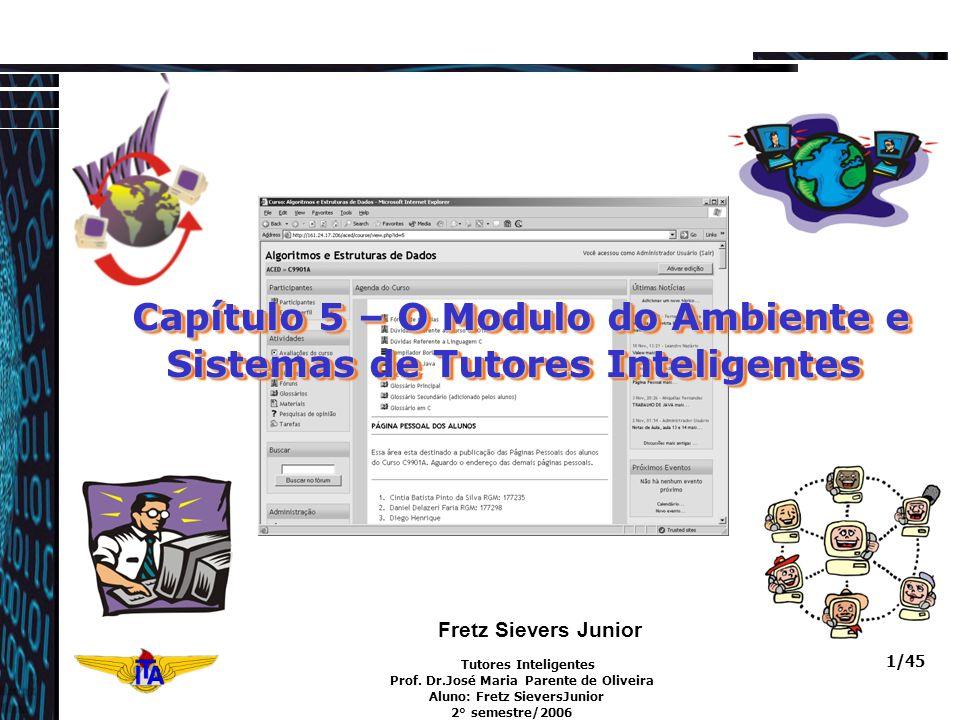 Tutores Inteligentes Prof. Dr.José Maria Parente de Oliveira Aluno: Fretz SieversJunior 2° semestre/2006 1/45 Fretz Sievers Junior Capítulo 5 – O Modu