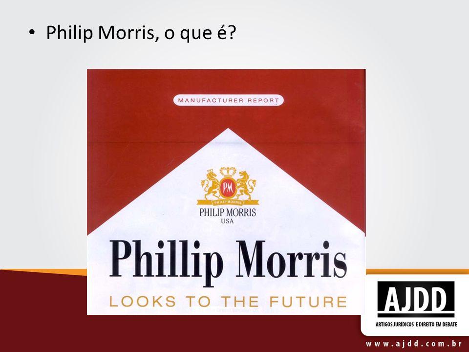 Philip Morris, o que é?