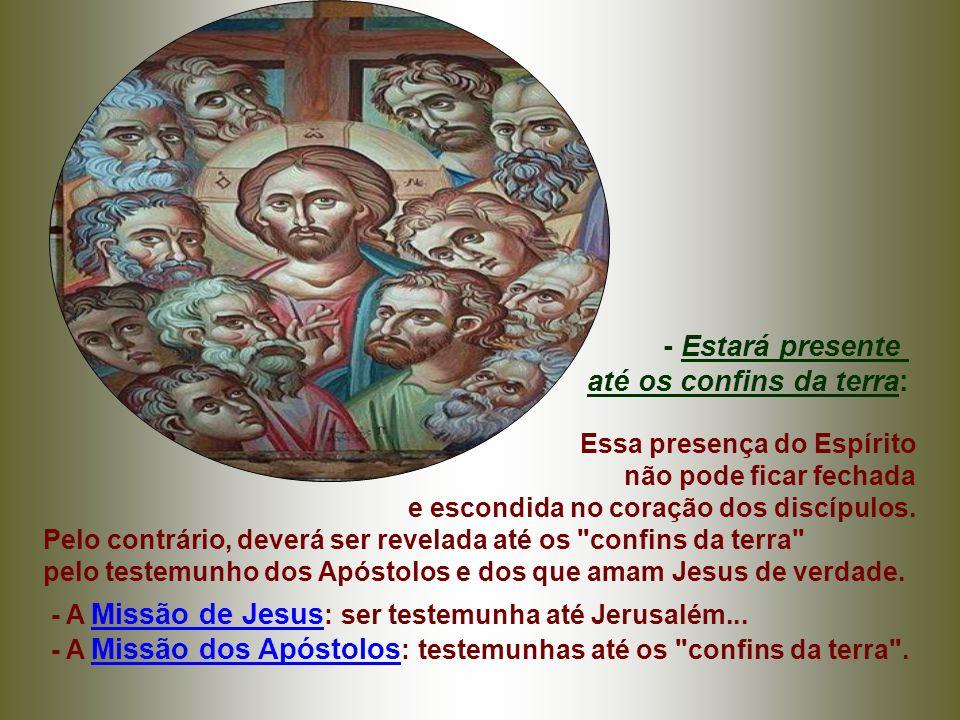 - No tempo de Jesus: Morada de Deus era o Templo de Jerusalém... - Para CRISTO, Morada de Deus pode ser o coração de todo cristão: