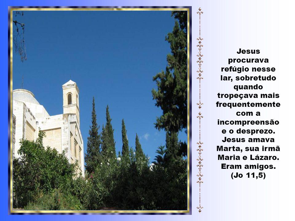 Caríssimos, São Lucas narra-nos que Jesus ia a caminho de Jerusalém (Lc 10, 38-42) e entrou numa aldeia antes de chegar à cidade.