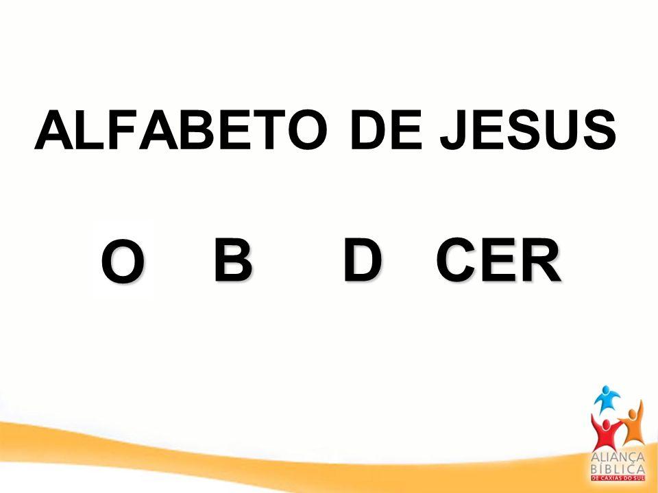 ALFABETO DE JESUS ABDCER O