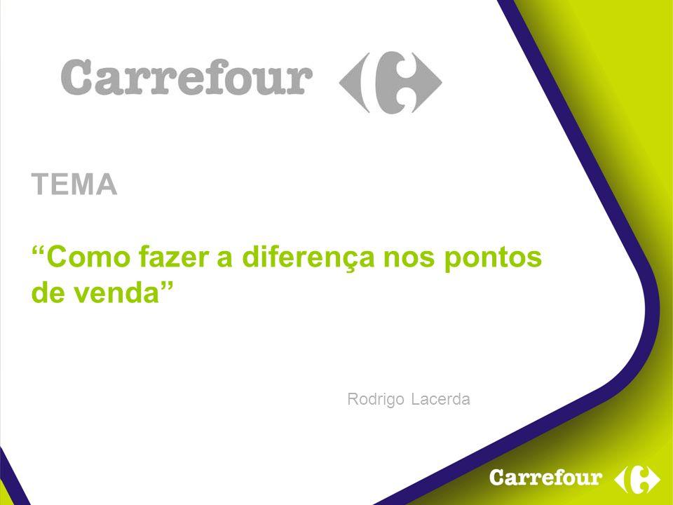 TEMA Como fazer a diferença nos pontos de venda Rodrigo Lacerda