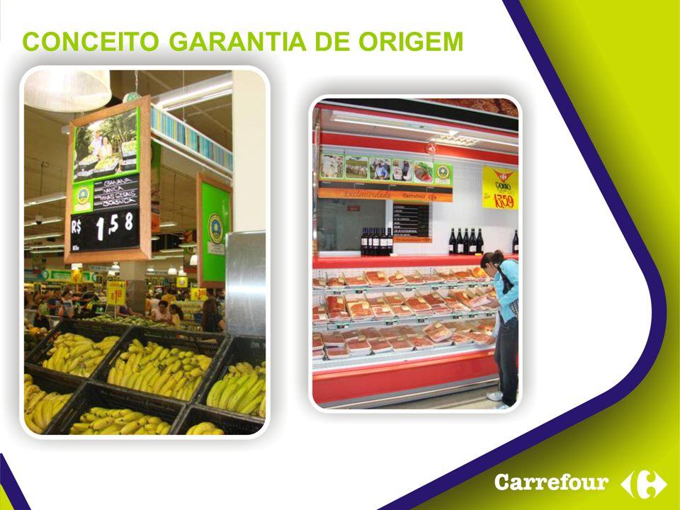 Trazer uma nova forma de inserir mais informações aos produtos Garantia de Origem Carrefour.