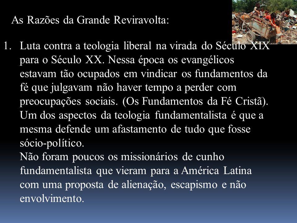No Brasil, apesar de algumas iniciativas, a maior parte da comunidade evangélica mantém uma postura avessa ao envolvimento em problemas sociais.