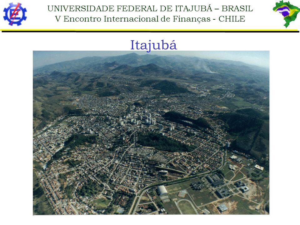 UNIVERSIDADE FEDERAL DE ITAJUBÁ – BRASIL V Encontro Internacional de Finanças - CHILE Itajubá