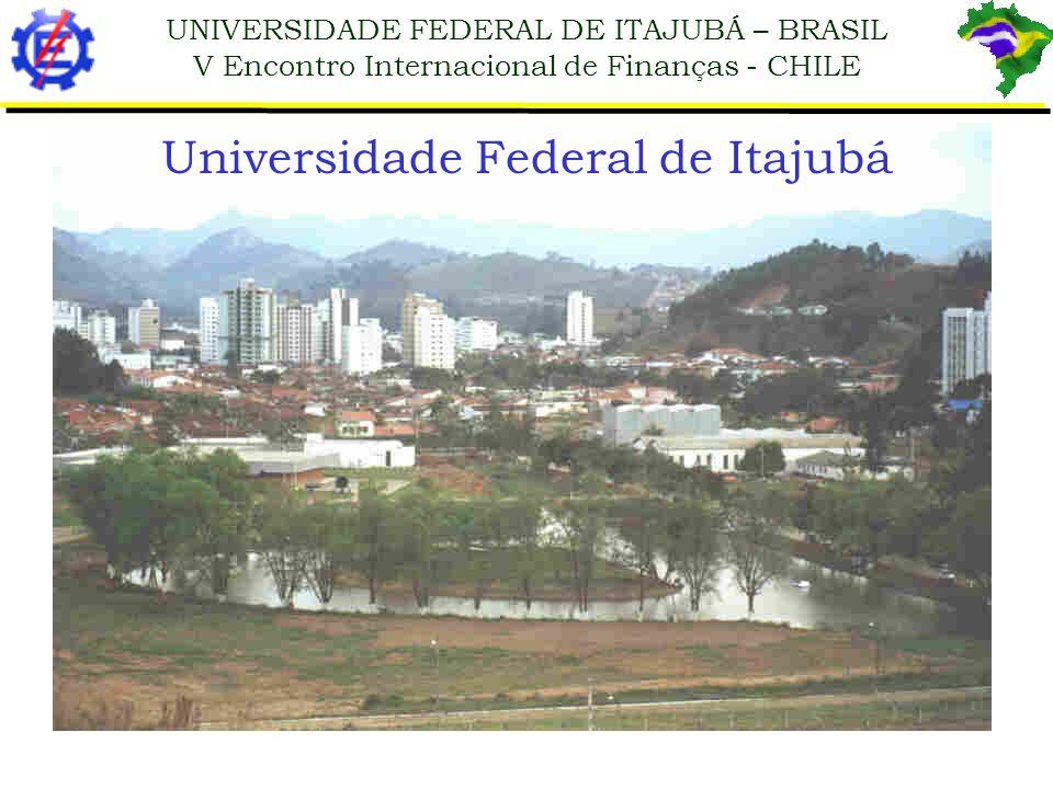 UNIVERSIDADE FEDERAL DE ITAJUBÁ – BRASIL V Encontro Internacional de Finanças - CHILE 1.