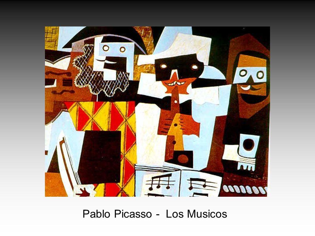 Pablo Picasso - Los Musicos