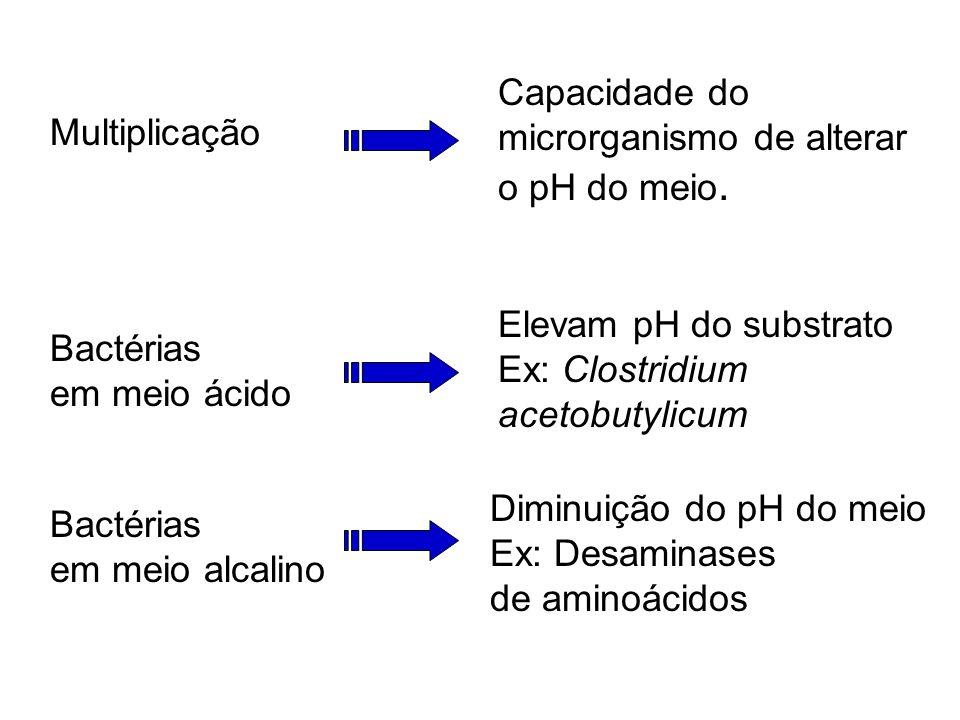 Influência do pH pH desfavorável ação das enzimas transporte de nutrientes interação entre íons H + e enzimas na membrana