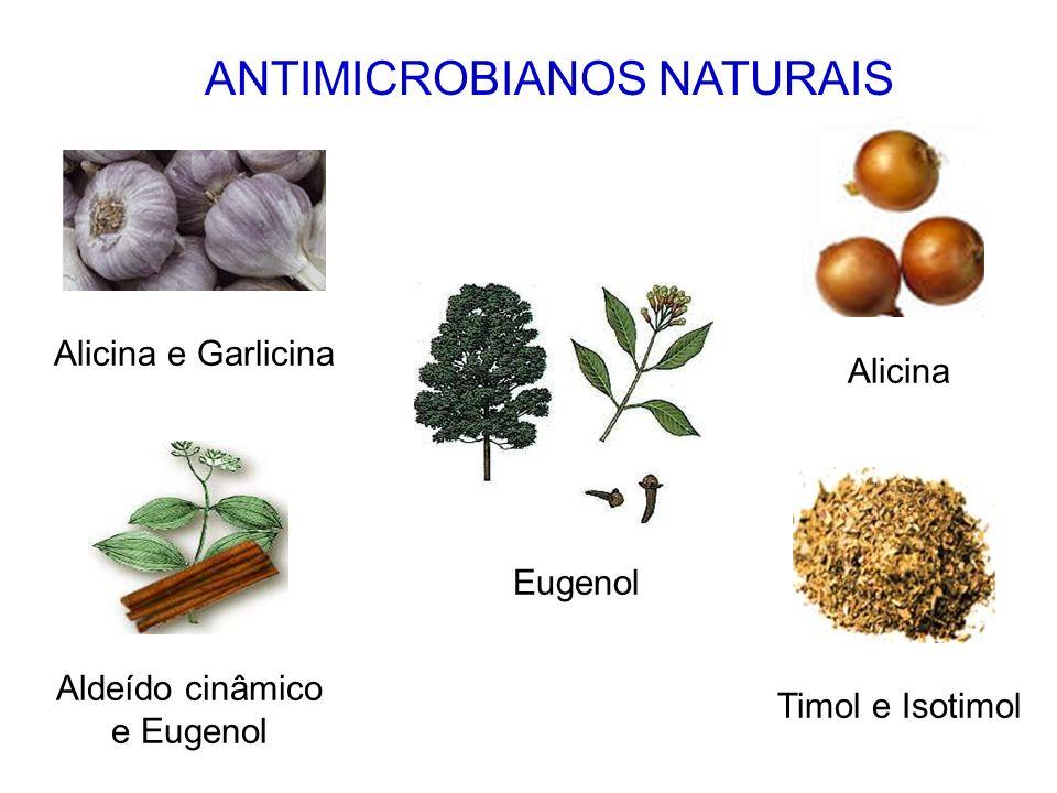 CONSTITUINTES ANTIMICROBIANOS Substâncias que apresentam a capacidade de retardar ou impedir a multiplicação microbiana.