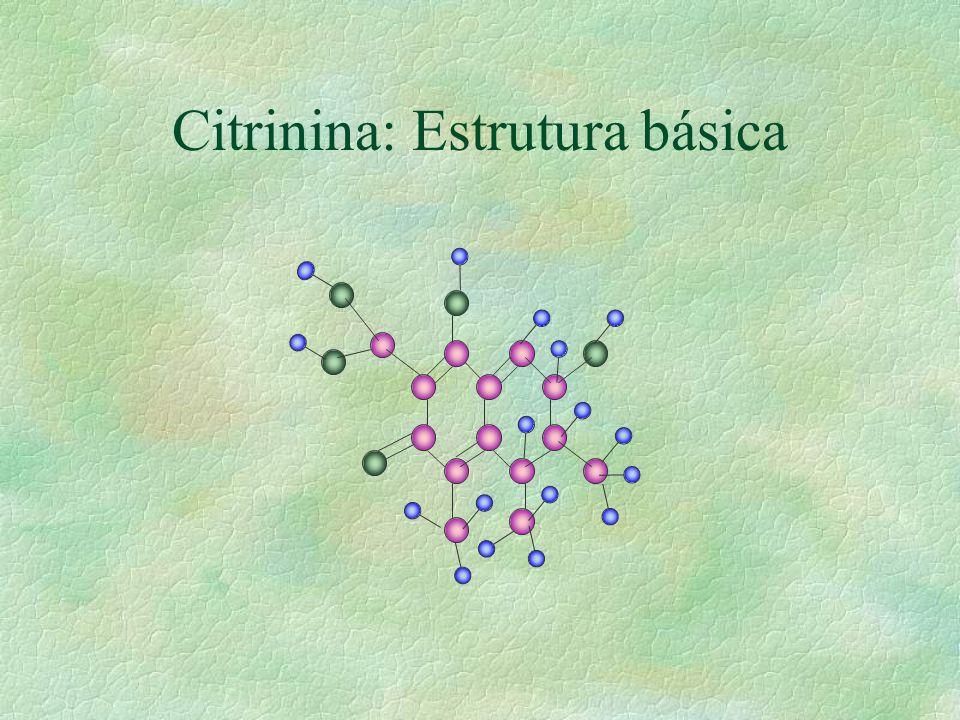Citrinina: Estrutura básica