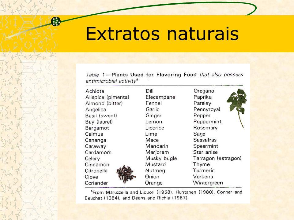 Extratos naturais