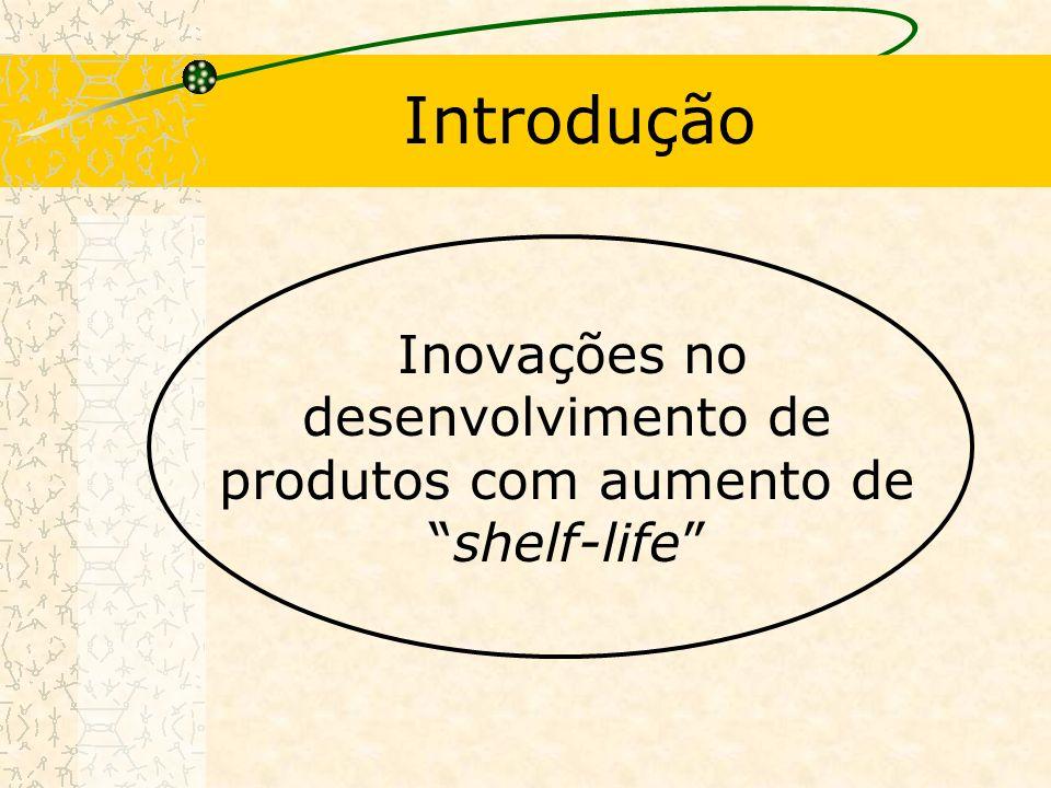 Introdução Inovações no desenvolvimento de produtos com aumento deshelf-life