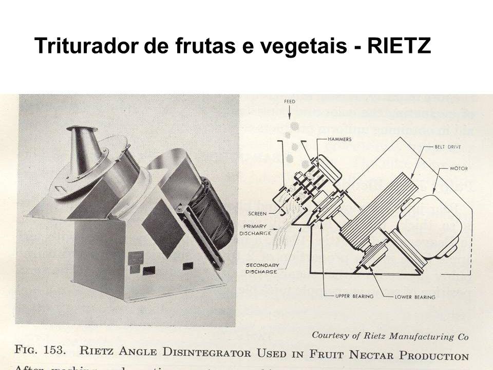 Triturador de frutas e vegetais - RIETZ