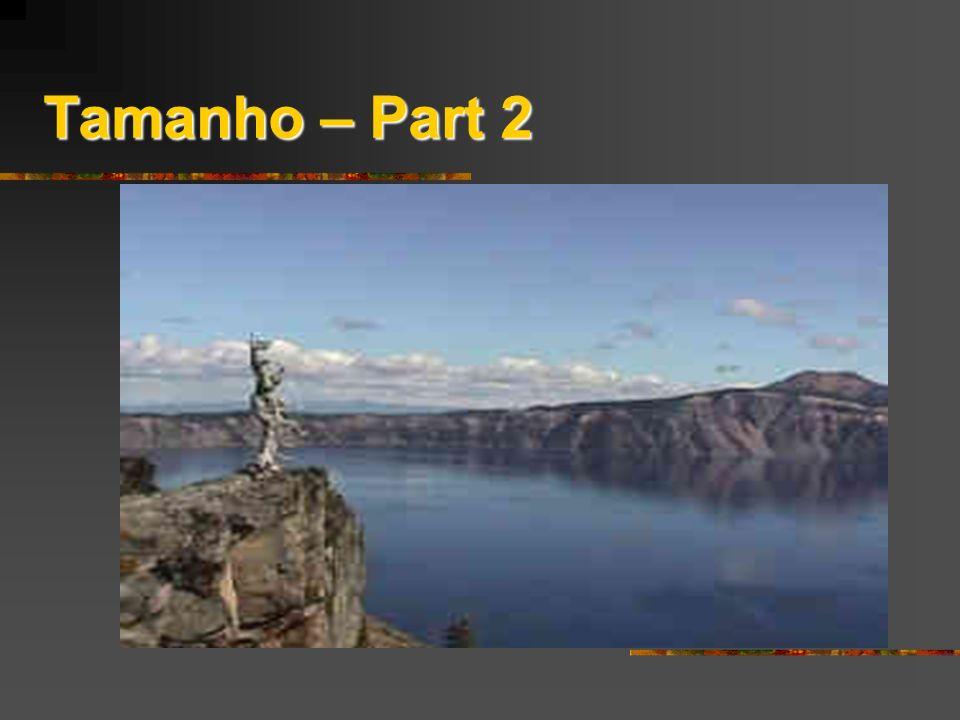 Tamanho – Part 2