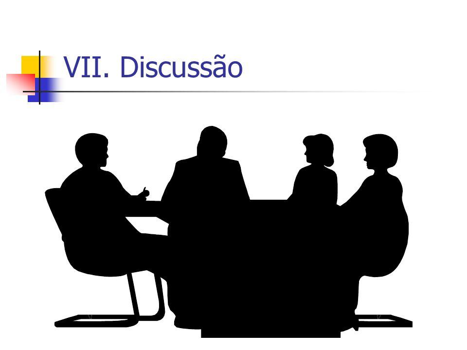 VII. Discussão