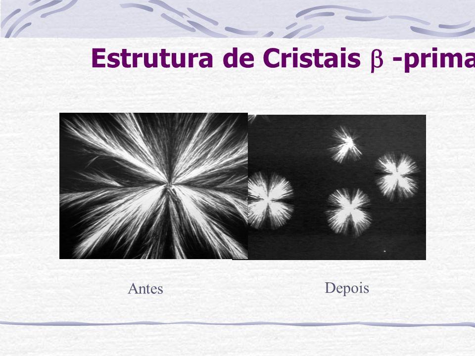 Estrutura de Cristais -prima Antes Depois