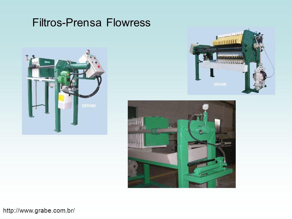 Filtros-Prensa Flowress http://www.grabe.com.br/