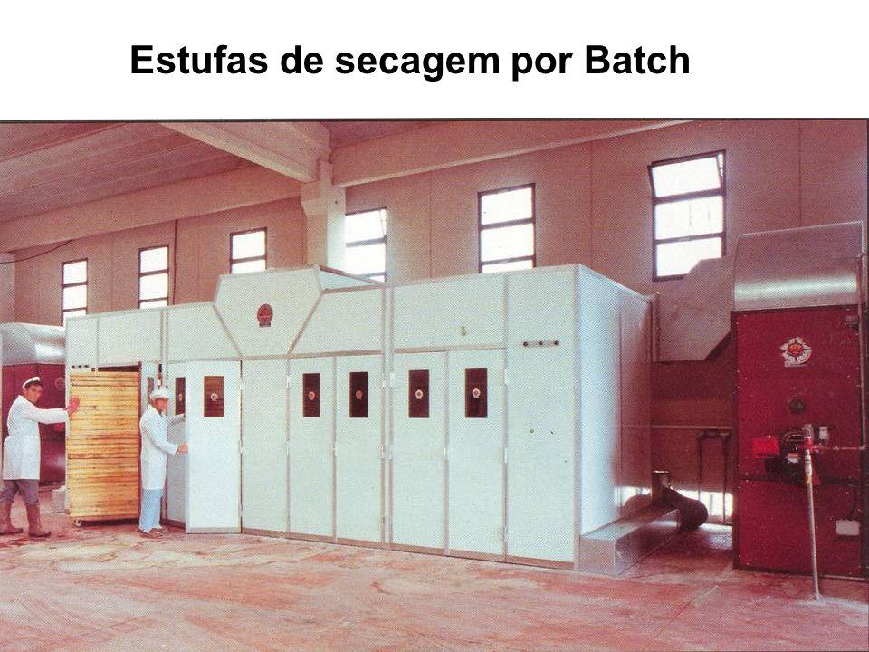 Estufas de secagem por Batch