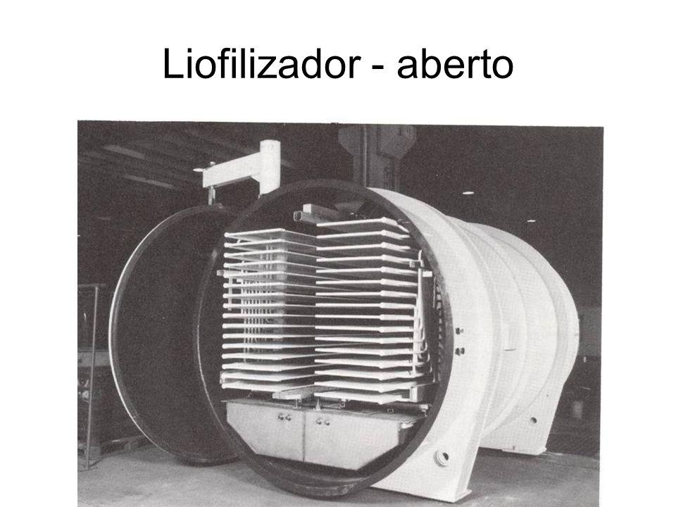 Liofilizador - aberto