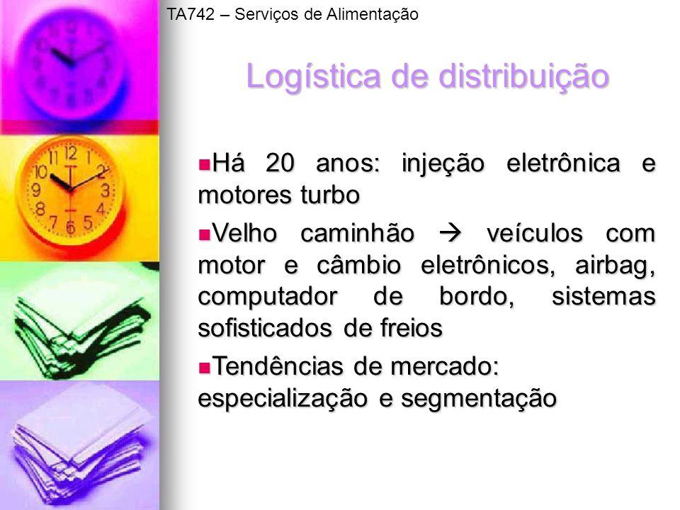 Logística de distribuição Há 20 anos: injeção eletrônica e motores turbo Há 20 anos: injeção eletrônica e motores turbo Velho caminhão veículos com mo