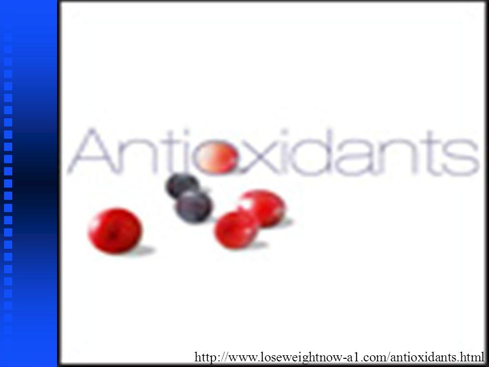 Naturais n n Tocoferóis e tocotrienóis n n Ascorbil palmitato n n Extratos vegetais (alecrim, sálvia) Antioxidantes primários