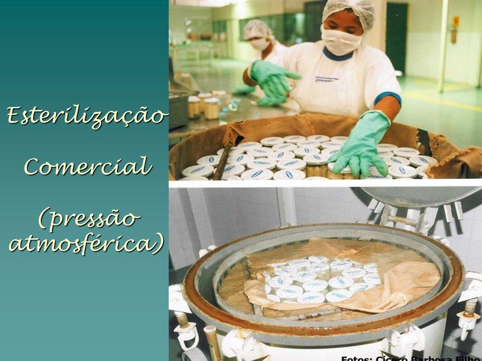 Esterilização Comercial (pressão atmosférica)