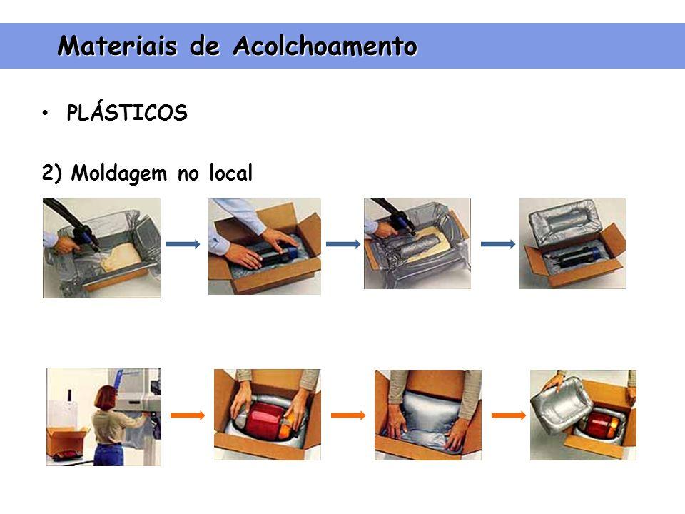 PLÁSTICOS 2) Moldagem no local Materiais de Acolchoamento