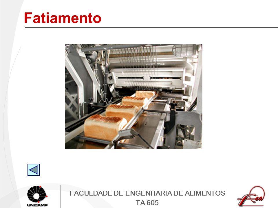 FACULDADE DE ENGENHARIA DE ALIMENTOS TA 605 Fatiamento