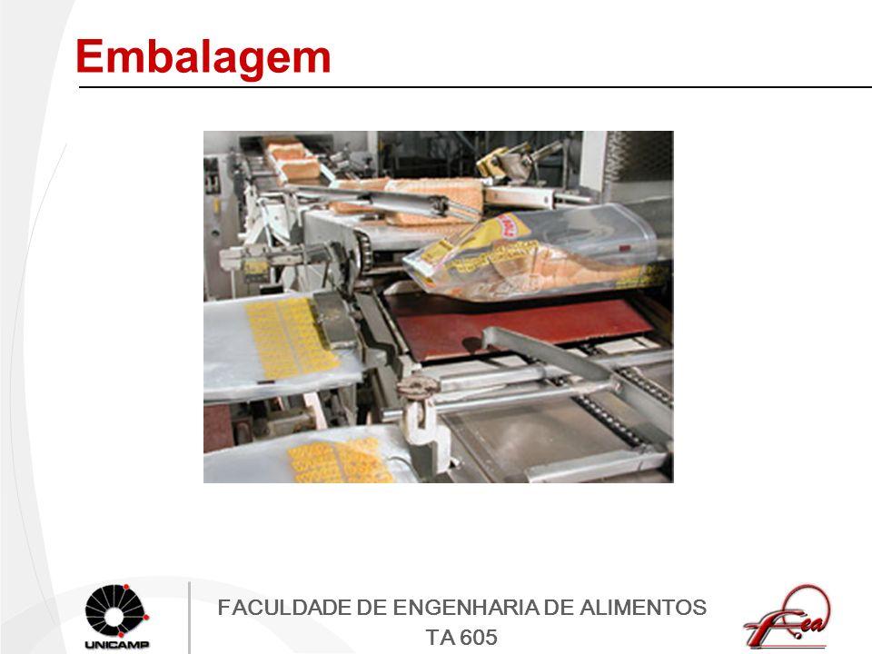FACULDADE DE ENGENHARIA DE ALIMENTOS TA 605 Embalagem