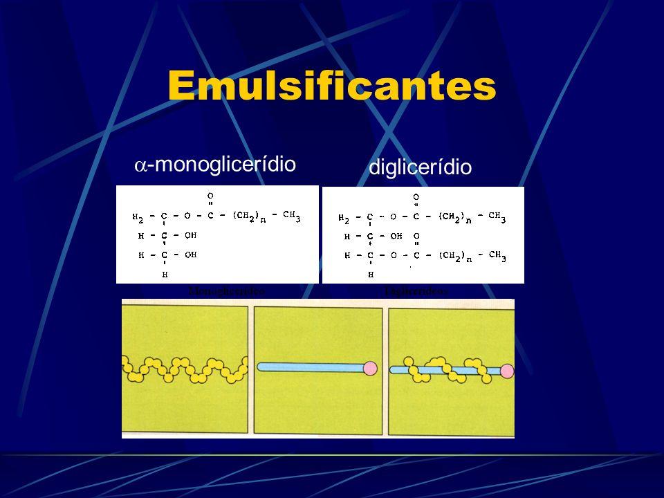 Emulsificantes -monoglicerídio diglicerídio
