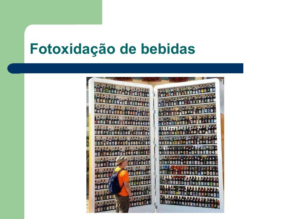 Fotoxidação de bebidas