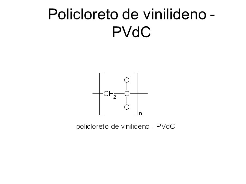 Policloreto de vinilideno - PVdC