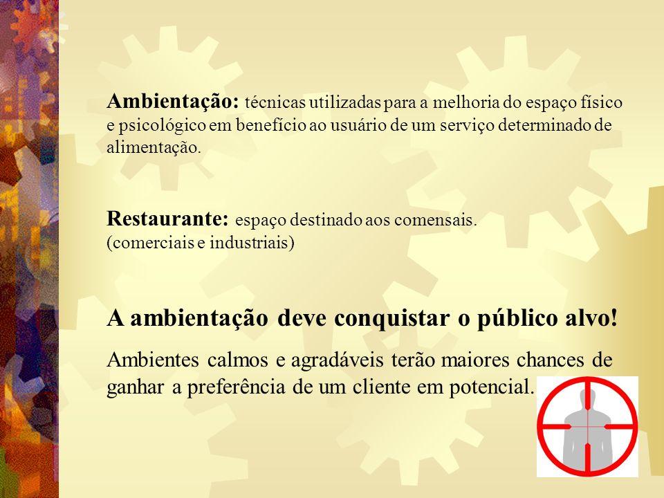 Quais os fatores que garantem um restaurante agradável ao cliente.