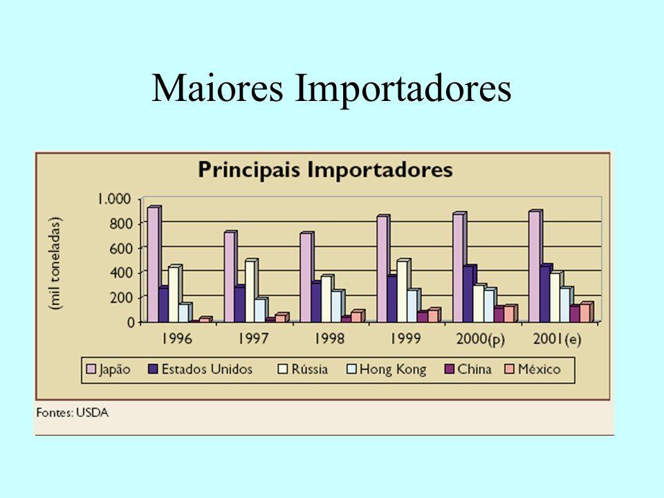 Maiores Importadores