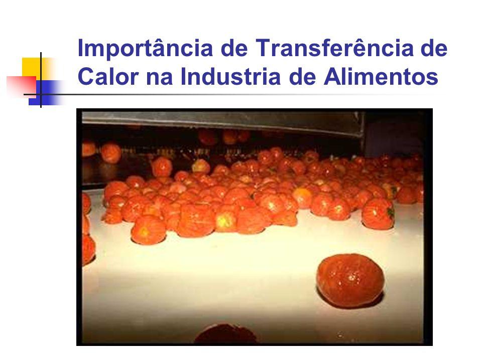 Importância de Transferência de Calor na Industria de Alimentos