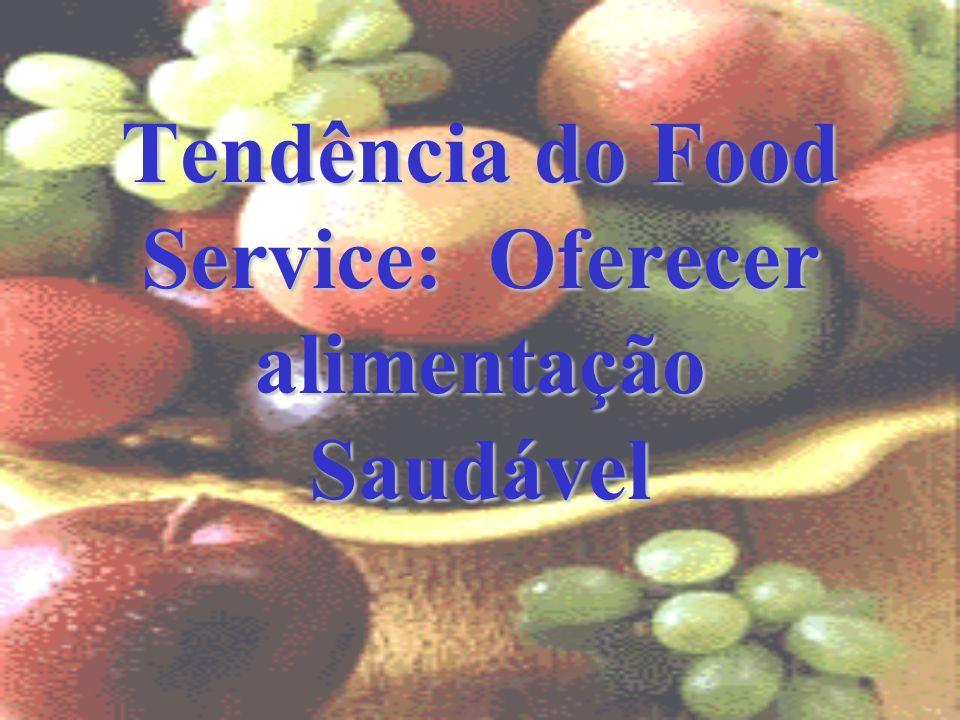 Tendência do Food Service: Oferecer alimentação Saudável