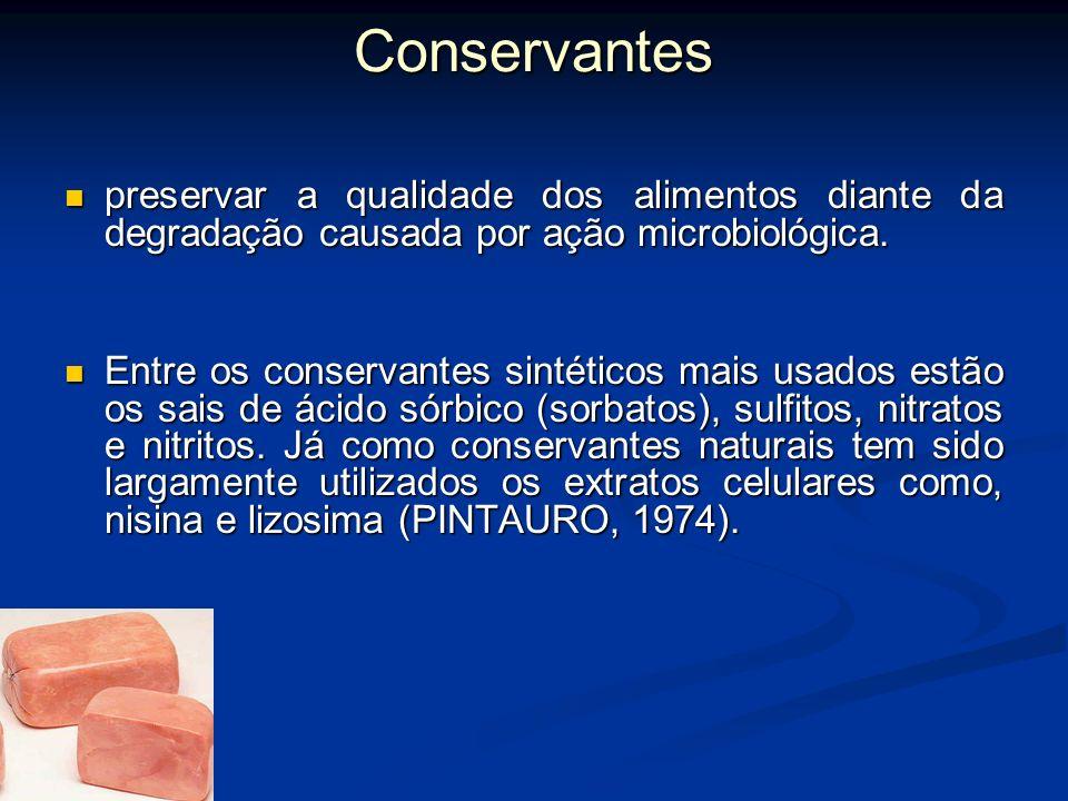 Uso de coadjuvantes de qualidade e vida de prateleira: Os coadjuvantes de qualidade podem ser aditivos naturais ou sintéticos adicionados aos alimento