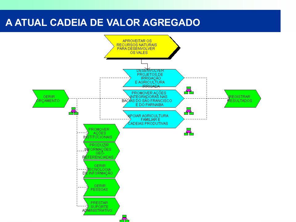 A ATUAL CADEIA DE VALOR AGREGADO