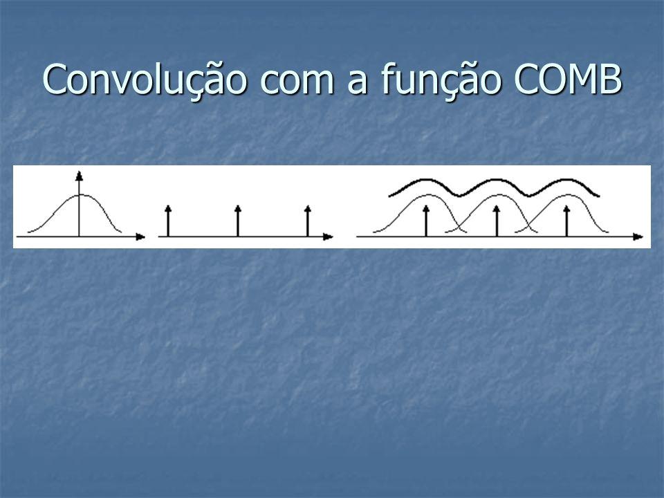 Convolução com a função COMB