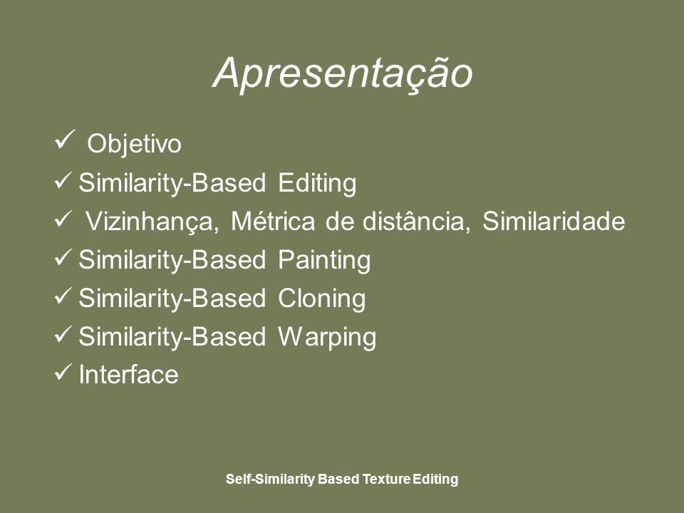 Self-Similarity Based Texture Editing Interface