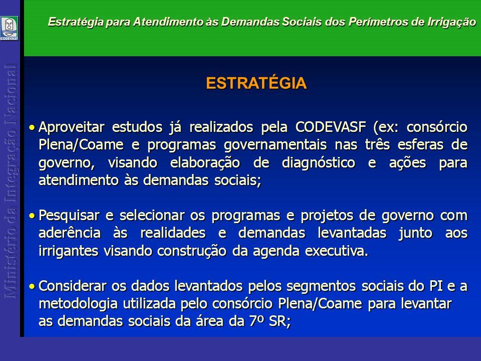 1ª SR 4ª SR 5ª SR 2ª SR 3ª SR Saúde Relação de Demandas Sociais dos Perímetros de Irrigação 6ª SR 7ª SR MENU PROGRAMAS MENU PROGRAMAS MENU PROGRAMAS MENU PROGRAMAS