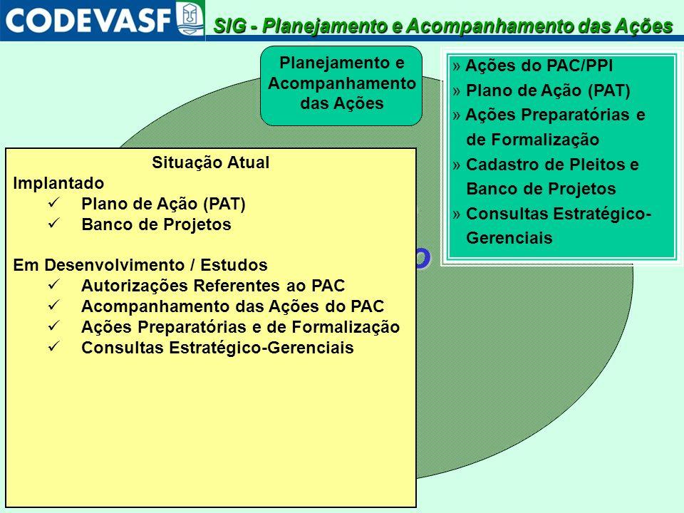 SistemaIntegradodeGestão Planejamento e Acompanhamento das Ações » Ações do PAC/PPI » Plano de Ação (PAT) » Ações Preparatórias e de Formalização » Ca