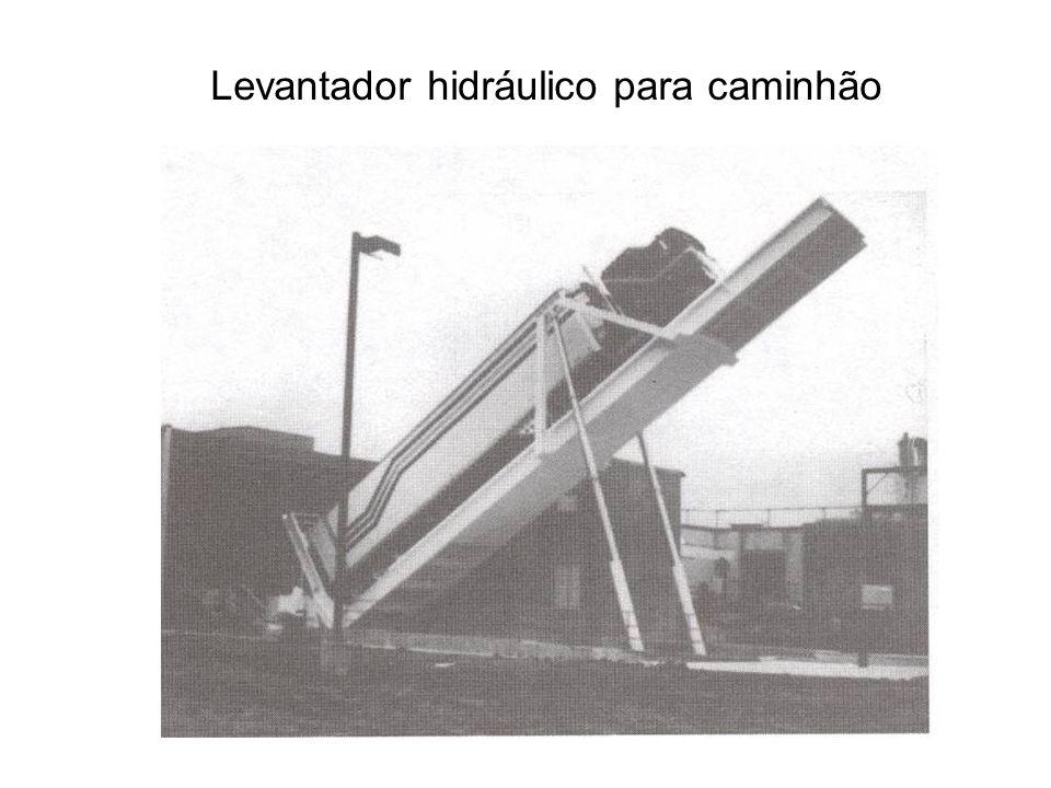 Levantador hidráulico para caminhão